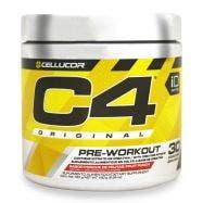 Cellucor C4 Pre-entrenador - Ponche de Frutas