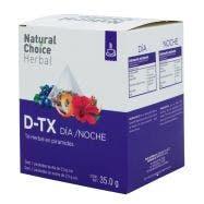 Natural Choice Herbal Té D-Tox Dia Noche