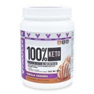 Finaflex 100 % Keto Food - MCT y Aislado de Proteína -Vainilla y Caramelo