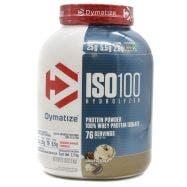 Dymatize ISO 100 Proteína aislada de suero de leche - Galletas con Crema
