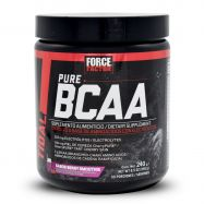 Force Factor Pure BCAA Aminoácidos Ramificados - Berry Smoothie