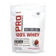 GNC Pro Performance 100 % Whey Proteína de suero de leche - Fresa