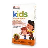 GNC Kids Probióticos Masticables 12.5 Billones UFC -Fresa