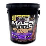 Muscletech Mass Tech Extreme 2000 Mezcla de proteínas alto en carbohidratos - Chocolate