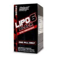 Nutrex Quemador Lipo 6 Black