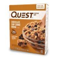 Quest Nutrition Barras de Proteína Chispas de Chocolate - 4 Paquetes