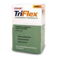 GNC Triflex Fórmula con Cúrcuma