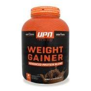 UPN Weight Gainer Mezcla de proteínas alto en carbohidratos - Chocolate