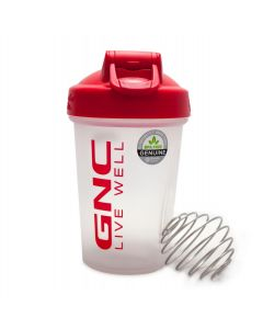 GNC Shaker Blender Bottle Mini -Rojo
