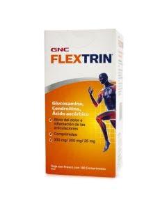 GNC Flextrin Glucosamina, Condroitina y Ácido ascórbico