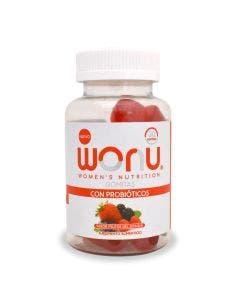 WONU Gomitas con Probióticos -Frutos del Bosque