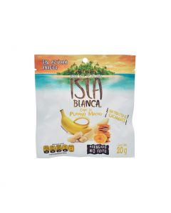 Isla Blanca Chips de Plátano y Cacahuate