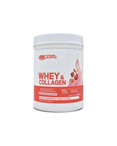 Optimum Nutrition Whey & Collagen Yogurt con Fresa