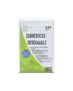 Bao Cubrebocas Desechable