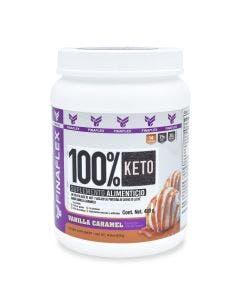 Finaflex 100 % Keto Food -Vainilla y Caramelo