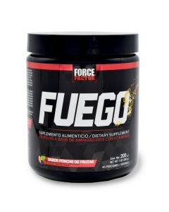 Force Factor Pre-Workout Fuego - Ponche de Frutas