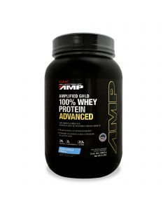 GNC Pro Performance AMP 100% Whey Protein Advanced -Vainilla