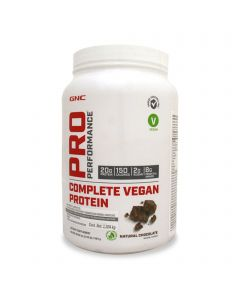GNC Pro Performance Complete Vegan Protein -Chocolate