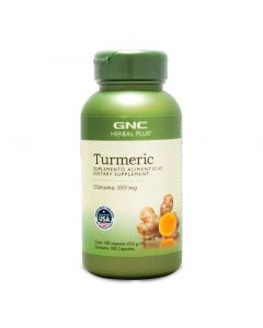 GNC Herbal Plus Cúrcuma 350 mg