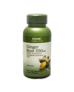 GNC Herbal Plus Jengibre 550 mg