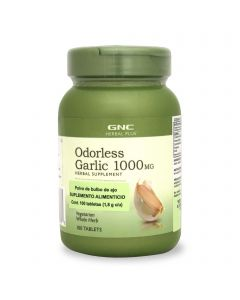 GNC Herbal Plus Odorless Garlic 1000 mg