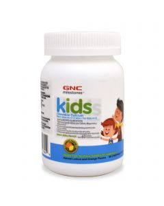 GNC Kids Chewable Calcium -Limón y Naranja