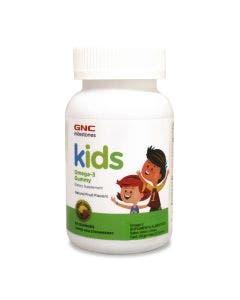 GNC Kids Omega-3 -Limón y Fresa