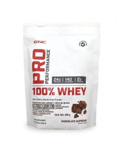 GNC Pro Performance 100% Whey Protein-Chocolate