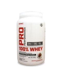 GNC Pro Performance 100% Whey Protein-Fresa