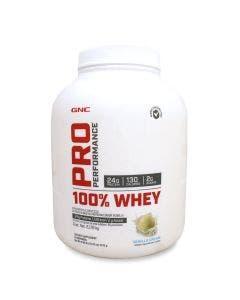 GNC Pro Performance 100% Whey Protein -Vainilla