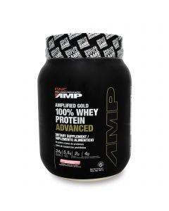 GNC Pro Performance AMP 100% Whey Protein Advanced -Fresa