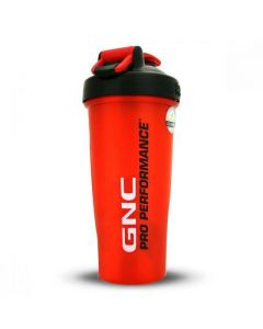 GNC Pro Performance Blender Bottle-Red