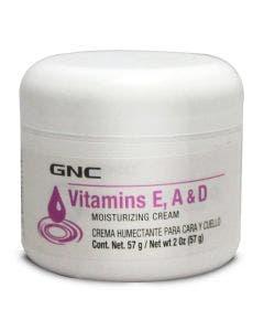 GNC Crema Humectante con Vitaminas E, A & D