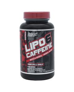Nutrex Lipo 6 Quemador de Mezcla Herbal y Cafeína