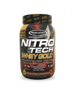 Muscletech Nitro Tech 100% Whey Gold -Chocolate