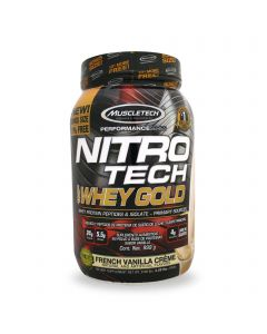 Muscletech Nitro Tech 100% Whey Gold -Vainilla