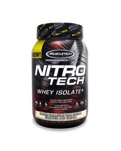 Muscletech Nitro Tech Whey Isolate -Galletas con Crema