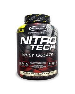 Muscletech Nitro Tech Whey Isolate -Vainilla