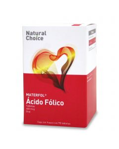 Natural Choice Ácido Fólico 400 mcg