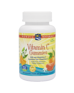 Nordic Naturals Gomitas de Vitamina C Mandarina