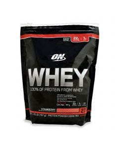 Optimum Nutrition 100 % Whey Protein -Fresa