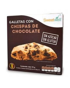 SweetWell Galletas -Chispas de Chocolate