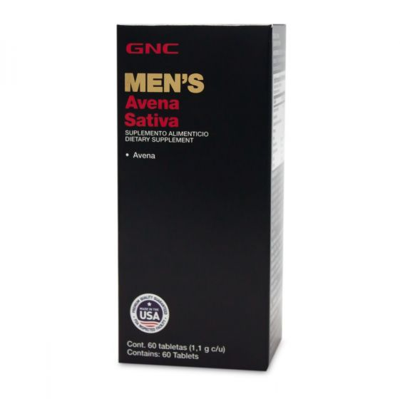 GNC Men's Avena Sativa - 60 Tabletas