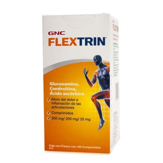 GNC Flextrin Glucosamina y Condroitina - 120 Cápsulas