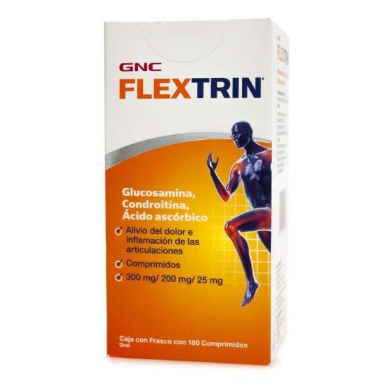 GNC Flextrin Glucosamina y Condroitina - 180 Cápsulas