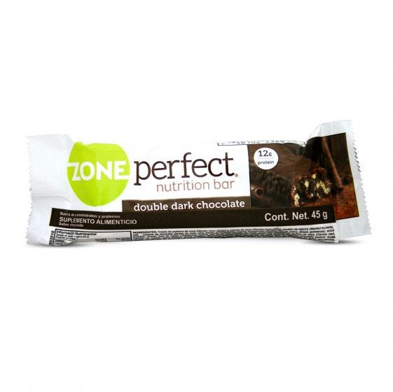 Zone Perfect Barra Snack -Doble Chocolate Oscuro