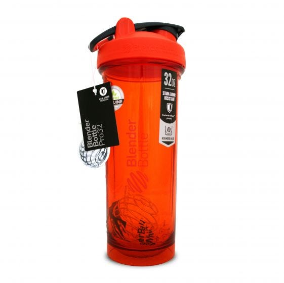 Blender Bottle Shaker Pro Stack Rojo - 32 Oz