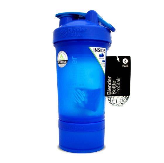 Blender Bottle Shaker Pro Stack Cian - 22 Oz