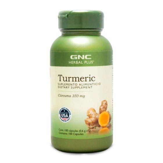 GNC Herbal Plus Cúrcuma 350mg - 100 Cápsulas