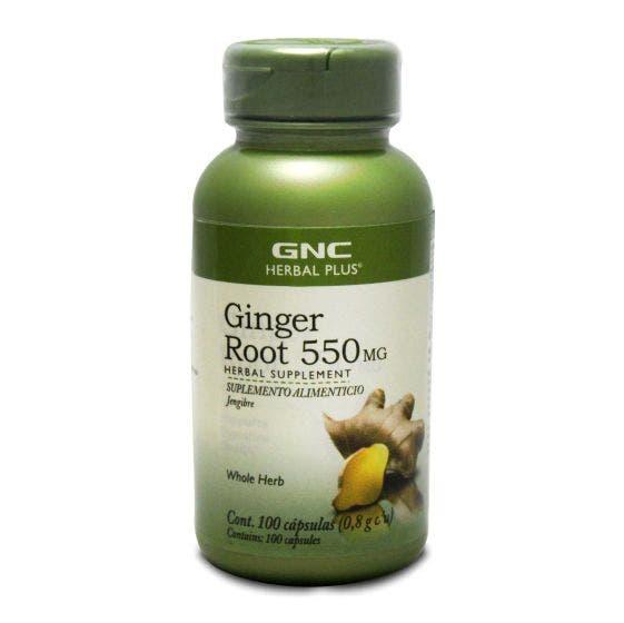 GNC Herbal Plus Jengibre 550 mg